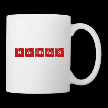 Hardbass Hardstyle periodic table of elements PSE - Mug