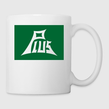 Plus green white - Mug