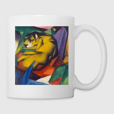 Franz Marc: The Tiger. - Tazza
