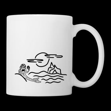 Cartoon mermaid - Mug