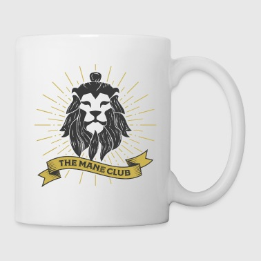 The Man / Mane Club - Der Mann / Mähne Club Retro - Tasse