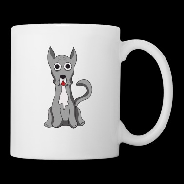 Great Dane comic design - Mug