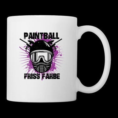 Paintball - color Friss - Taza