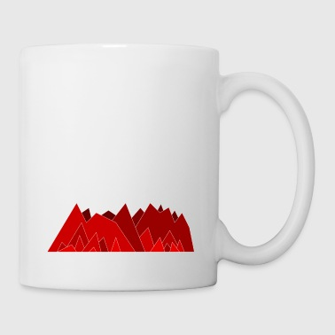 Simplistic Mountains - Mug