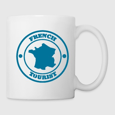 French Tourist - Mug blanc