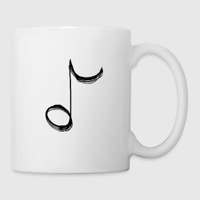 Musical Note - Tasse