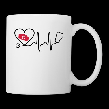 Heart Beat Nurse - Taza