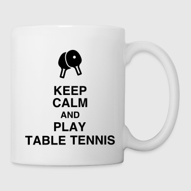 Table Tennis - Ping Pong - Sport - Racket - Ball - Kubek