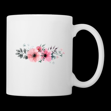 Floral Mother of the Groom. Hen Party.Bachelorette - Mug