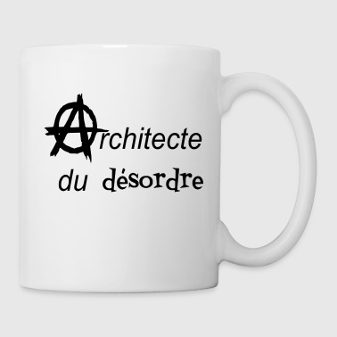 t-shirt anarchy architect della mess tote bag - Tazza