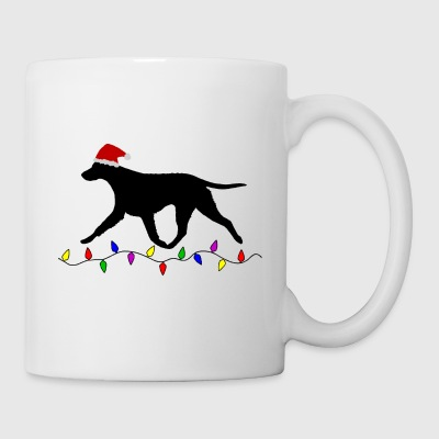 Curly Coated Retriever (Black) Christmas - Kopp