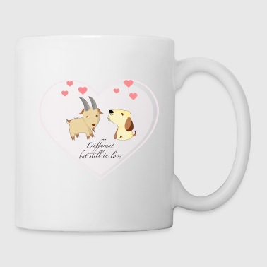 Different, but still in love - Mug