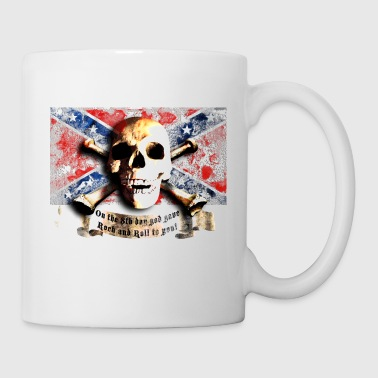 skull_and_flag_072013_sudstaaten_a - Tasse