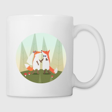 fox marriage - Mug
