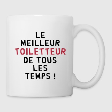 Toiletteur / Toiletteuse / Toilettage / Chien Chat - Mug blanc