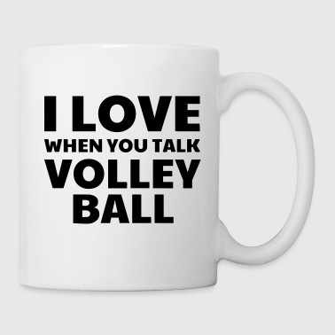 Volleyball - Volley Ball - Volley-Ball - Sport - Mug