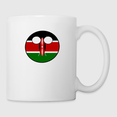 Countryball Land Heimat Kenia - Tasse