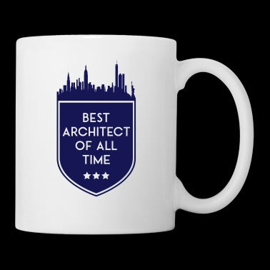 BEST ARCHITECT OF ALL TIME SHIELD - Tasse
