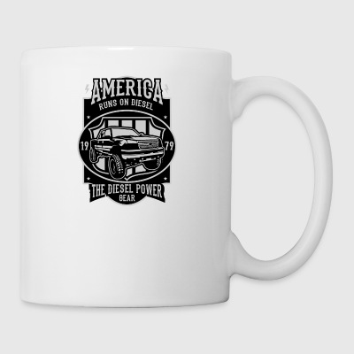 America Runs On Diesel - Mug