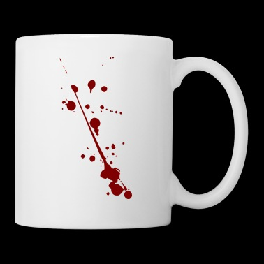 Blood splash splatter halloween - Mug