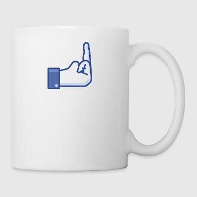 middle finger - Mug