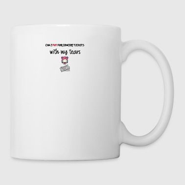 Can I pay for concert tickets - Mug