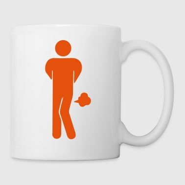 Funny Farting Restrooms / Toilet Sign - Mug