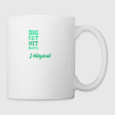 volley-ball Volley-ball cadeau - Tasse