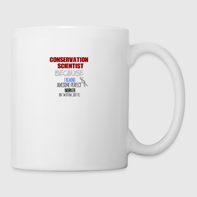 scientifique en conservation - Tasse