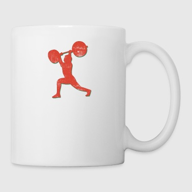 Body Building Weight Lifter - Mug