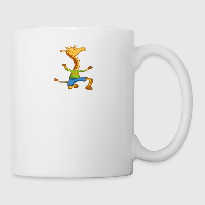 Funny animal design giraffe - Mug
