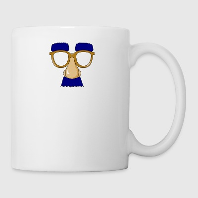 Glasses with mustache - Mug