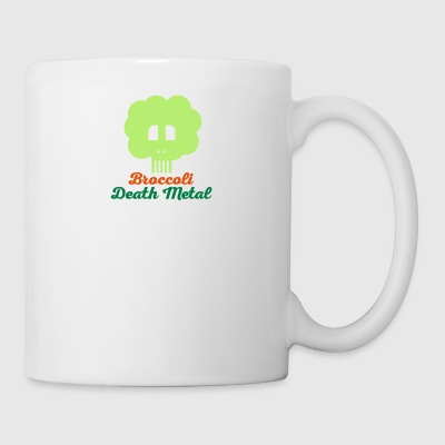 death metal brocoli 10 - Tasse