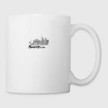 Frankfurt am Main - City sketch skyline - Mug