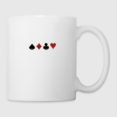 Poker Blackjack Ass Devil Teufel Casino Angel Card - Tasse