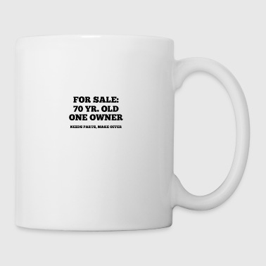 70th Birthday: For Sale - 87 Yr. Old, One Owner. - Mug