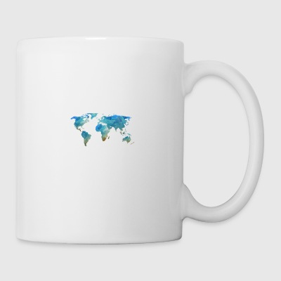 map transparent - Mug
