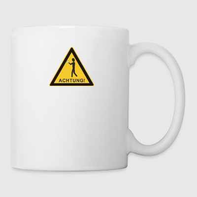 Note Sign - Smartphone User - Mug