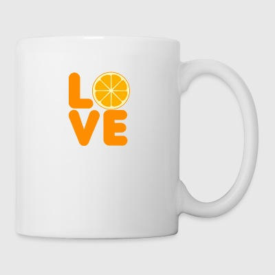 Fruit / Fruit: Love Orange - Mug