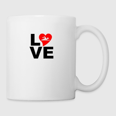 Love swimming - Mug