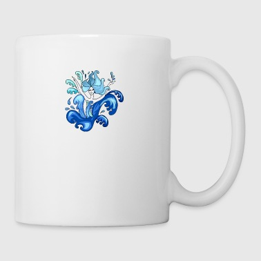 Illustration sirène - Mug blanc