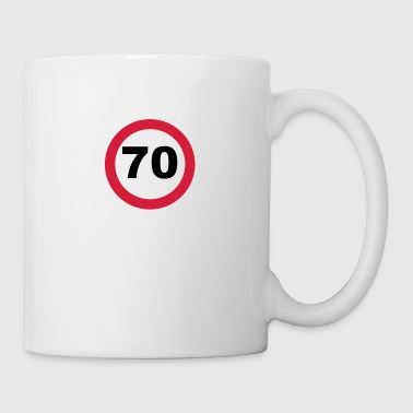 70th Birthday - Mug