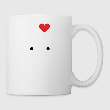 I love Car - Tasse