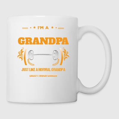 Body Building Grandpa Shirt Idea de regalo - Taza