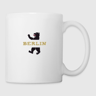 berlin coat of arms bear - Mug