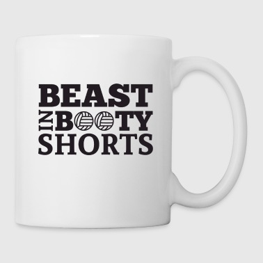 Volley-ball Beast en short butin - Tasse