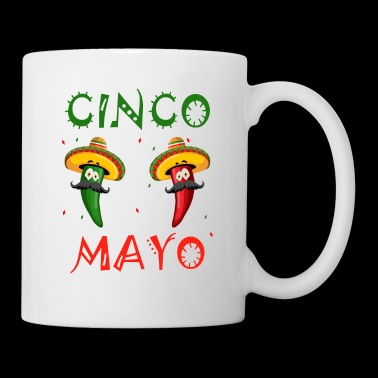 CInco de Mayo Party T-Shirt Cool Funny Fiesta Gift - Tasse
