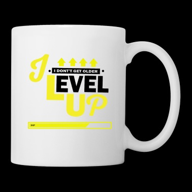 Jeg Level Up Konsoller og PC Gamer Birthday Shirt - Kopp