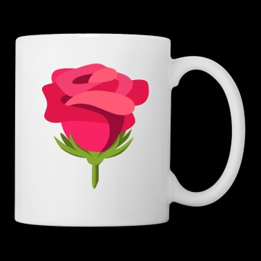 Idea del regalo di Rose Design Illustration Macro - Tazza