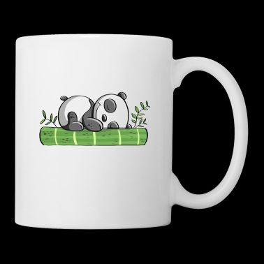 My Spirit Animal es un panda - Panda Bear - Comic - Taza